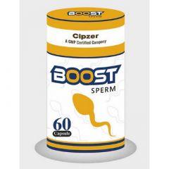 CIPZER Boost Sperm Capsule For Mens Vigor, Stamina and Strength (60 Caps) (Pack of 1)