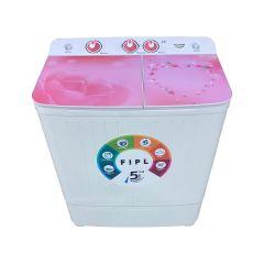 Destine Half Glass Semi Automatic Washing Machine (7 KG)