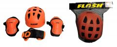 Flash Best In Quality Skating Protective Combo Set For Skating, Cycling & Running
