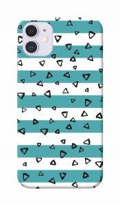 Tringle Shape Printed Attractive and Unique Design I Phone 11 Mobile Cover