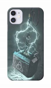 Thor Hammer Printed Attractive and Unique Design I Phone 11 Mobile Cover
