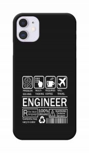 Skill of Engineer Printed Attractive and Unique Design I Phone 11 Mobile Cover