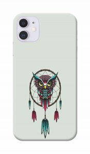 Angry Owl Printed Attractive and Unique Design I Phone 11 Mobile Cover