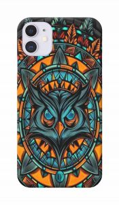 Angry Owl Art Printed Attractive and Unique Design I Phone 11 Mobile Cover