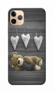 Unique and Attractive Teddy Bear Printed Design Mobile Cover For I Phone 11 Pro