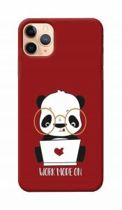 Unique and Attractive Panda Work Printed Design Mobile Cover For I Phone 11 Pro