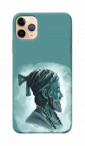 Unique and Attractive Shivaji Printed Design Mobile Cover For I Phone 11 Pro