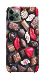 Chocolate Printed Stylish and Attractive Design Mobile Back Cover For I Phone 11 Pro Max