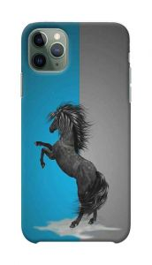 Horse Printed Stylish and Attractive Design Mobile Back Cover For I Phone 11 Pro Max