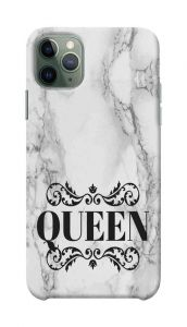 White Queen Marble Printed Stylish and Attractive Design Mobile Back Cover For I Phone 11 Pro Max