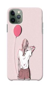 Girl with Balloon Printed Stylish and Attractive Design Mobile Back Cover For I Phone 11 Pro Max