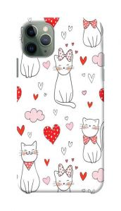 Sweety Cat Printed Stylish and Attractive Design Mobile Cover For I Phone 11 Pro Max