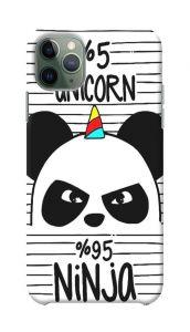 Stylish and Attractive Unicon Ninja Panda Printed Design Mobile Back Cover For I Phone 11 Pro Max