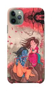 Stylish and Attractive Radha Krishna Printed Design Mobile Back Cover For I Phone 11 Pro Max