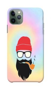 New Style Beard Printed Stylish and Attractive Design Mobile Cover For I Phone 11 Pro Max