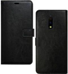High-Quality Material Leather Wallet Flip Cover For Mi Redmi Note 4 (Black)
