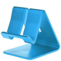 High-Quality Metal Mobile Stand Holder Compatible With all Smart Phone (Blue)