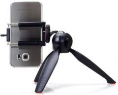 Photography 3UR_realm_e 3366 Tripod Mobile Camera Stand with 360 Rotation for Vlogging, Video Shooting & YouTube (Black)
