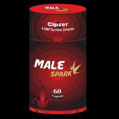 Cipzer Male Spark Capsules for Stamina Power (60 Capsules)