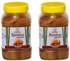 Healthy and Tasty Natraj The Right Choice Bans/Bamboo Murabba Helps in Height Increase (Pack of 2) (2*1 kg)