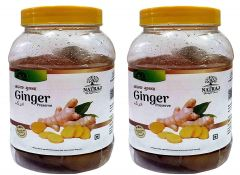 Healthy and Tasty Natraj The Right Choice Adrak/Ginger Murabba (Pack of 2) (2*1 Kg)