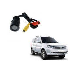 Premium Quality Car Reverse Parking Night Vision Camera For Tata Safari Strome (Color-Black) (Pack of 1)