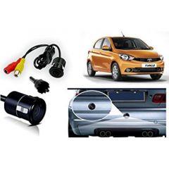 Premium Quality Car Reverse Parking Night Vision Camera For Tata Tiago (Color-Black) (Pack of 1)
