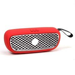 Mand Heavy Bass Car Grill Design 5 W Bluetooth Laptop/Desktop Speaker (Red) (Pack of 1)