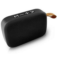 Mand Aluminium Alloy Portable 3W Super Bass 5.0 Wireless Bluetooth Speaker With Mic (Black)