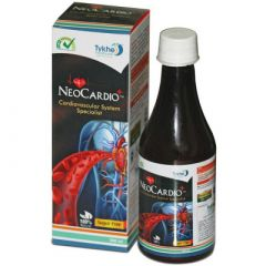 Tykhe Healthcare Neo Cardio Plus Syrup For Controls Cholesterol (300 ml) (Pack of 1)