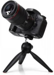 Photography 35NI_opp_o YT-228 Mini Mobile Camera Stand Tripod for Vlogging, Video Shooting and YouTube (Black)