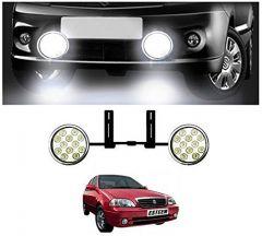 After Cars 12 LED Light Fog Lamp (Set of-2),for Car Maruti Suzuki Esteem