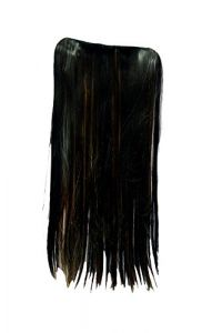 Homeoculture 5 Pin Straight Golden Synthetic Hair Extension Instant Styling