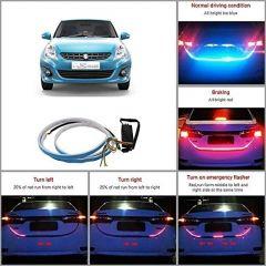 After Cars Maruti Suzuki Swift Dzire 2013 Flow Led Strip Trunk/Dicky/Boot/Tail Lights