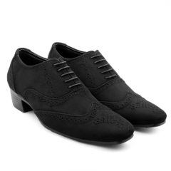 Bxxy Mens Suede Height Increasing Casual Moccasins Shoes All Occasions