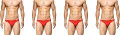 Machord Men Brief Unique Collection of Underwear (Pack of 4)