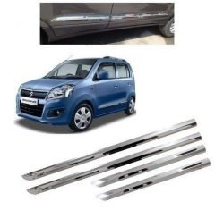 After Cars Maruti Suzuki Wagon R 2016 Steel Side Beading Dicky Garnish Combo Set