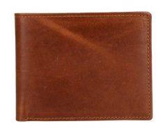 ASPENLEATHER Genuine Leather Bi-Fold Wallet For Men (Tan)