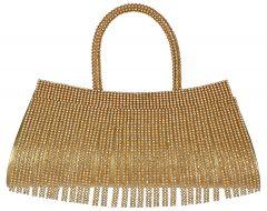 VSK Women's Handbag Unique Design - Gold