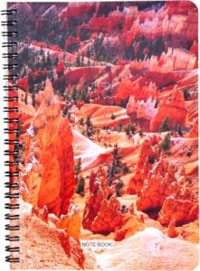 Toss Designer A5 & 128 Pages Notebook (Multicolor) (Pack Of 1)