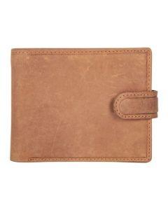 ASPENLEATHER Prive Genuine Leather RFID Blocker Wallet For Men (Light Brown)