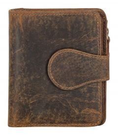 ASPENLEATHER Prive Brown Genuine Leather RFID Blocker Wallet For Men