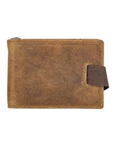 ASPENLEATHER Prive Genuine Leather RFID Blocker Wallet For Men (Brown)