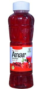 Natraj The Right Choice Anar Sharbat Syrup, 750 ml