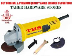 THS Premium Quality Angle Grinder 850W 11000R/Min For Industrial & Home Use (Pack of 1)
