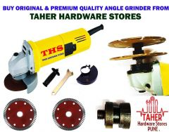 THS Premium Quality Angle Grinder 100mm 850W with Accessories Combo Offer