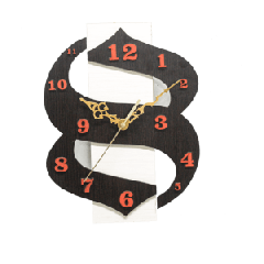 Antique Wooden Decorative Wall Hanging Clock ICW 024