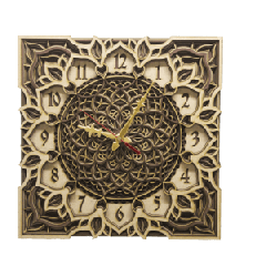 Antique Wooden Decorative Wall Hanging Clock ICW 027