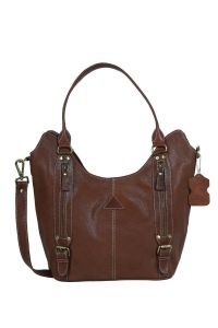 ASPENLEATHER Brown Genuine Leather Purse For Women