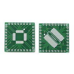 Mohitenterprises | Qfp/Tqfp/Lqfp/Fqfp/Sop/Ssop32 To Dip Adapter/ Breakout Board | Pack Of 1